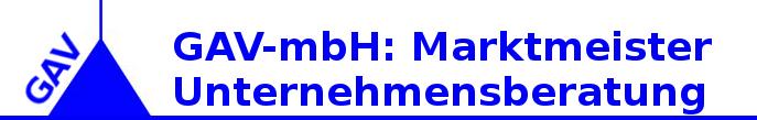 GAV-mbh: Marktmeister Unternehmensberatung